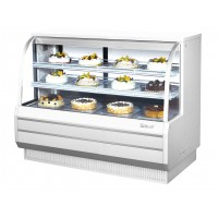 Turbo Air TCGB-60-DR Non-Refrigerated Bakery Case 18.7 cu ft