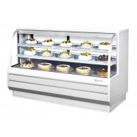 Turbo Air TCGB-72-CO Combination Refrigerated and Ambient Bakery Case 11.1 cu ft