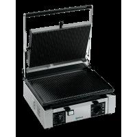 Univex PPress1.5R 1.5 Cast Iron Ribbed Plate Panini Press