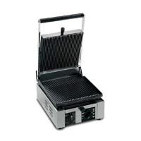 Univex PPress1R Single Cast Iron Ribbed Plate Panini Press