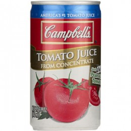 Campbell's Tomato Juice, 5.5 oz Each, 8 Boxes of 6 Cans, 48 Total