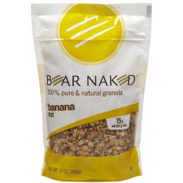 Bear Naked Granola Banana Nut Pack, 12 oz Each, 6 Packs Total