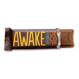 Awake Milk Chocolate Bar, 1.55 oz Each, 72 Total
