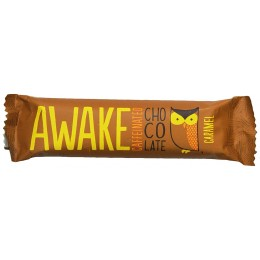 Awake Caramel Chocolate Bar, 1.55 oz Each, 72 Total