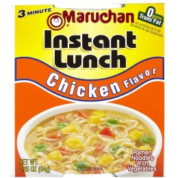 Maruchan 00121 Instant Lunch Chicken Flavor, 2.25 oz Each, 12 Total