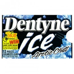 Dentyne Ice Arctic Chill, .384 oz ea. 162 Total
