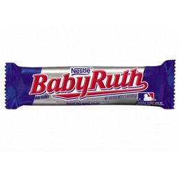 Baby Ruth Bar, 2.1 oz Each, 12 Boxes of 24 Bars, 288 Total
