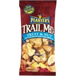 Kraft 00290000002600 Planters Trail Mix Fruit and Nut 2oz Each Pack, 72 Packs Total