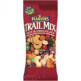 Kraft 00290000002700 Planters Trail Mix Nut and Chocolate 2 oz Each Pack, 72 Packs Total