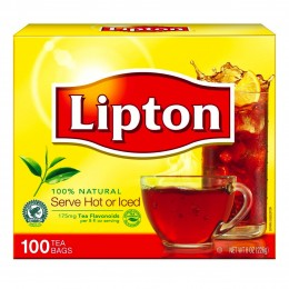 Lipton Tea Bags, 10 Boxes of 100 Tea Bags, 1000 Total