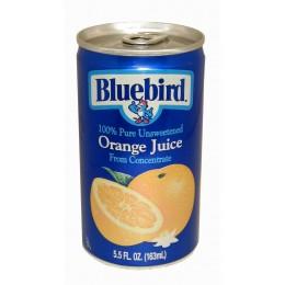 Bluebird 100% Orange Juice, 5.5 oz Each, 48 Cans Total