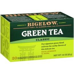 Bigelow Green Tea Bag, 6 Boxes of 28 Tea Bags, 168 Total