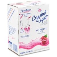 Crystal Light On the Go Raspberry Tea Mix 120 Total