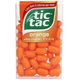 Tic Tac Mints Orange, 1 oz Each, 288 Total