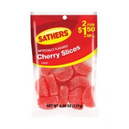 Farley's & Sathers Cherry Slices, 4.85 oz Each, 12 Bags Total