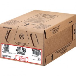 Coke HFCS Sweetener Bag In Box Syrup, No Coke Flavor, 5 Gallons