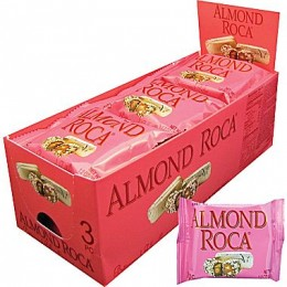 Almond Roca Buttercrunch, 3 Piece Each, 108 Total