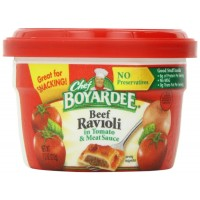 Chef Boyardee Beef Ravioli Microwaveable Bowl, 7.5 oz Each, 12 Total