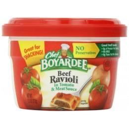 Chef Boyardee Beef Ravioli Microwaveable Bowl, 7.5 oz Each, 12 Total