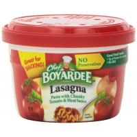 Chef Boyardee Beef Lasagna Microwaveable Bowl, 7.5 oz Each, 12 Total