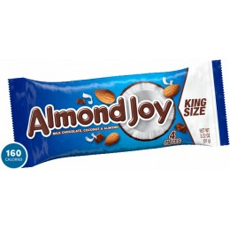 Almond Joy King Size 3.2 oz Each Bar 144 Total Bars