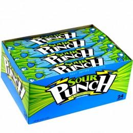 Sour Punch Straws Blue Raspberry, 2 oz Each, 288 Total