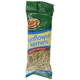 Kar's Nuts Sunflower Kernels, 2 oz Each, 72 Bags Total