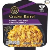Cracker Barrel 10021000066114 Single Bowl Cheddar Havarti Macaroni & Cheese Dinner 3.8oz/6 Total