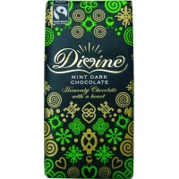Divine Dark Chocolate with Mint, 3.5 oz Each, 60 Total