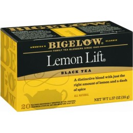 Bigelow Lemon Lift Tea Bag, 6 Boxes of 28 Tea Bags, 168 Total