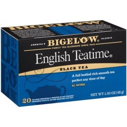 Bigelow English Teatime Tea Bag, 6 Boxes of 28 Tea Bags, 168 Total