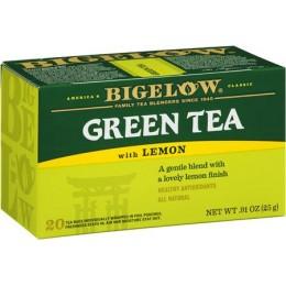 Bigelow Decaf Green with Lemon Tea Bag, 6 Boxes of 28 Tea Bags, 168