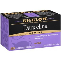 Bigelow Darjeeling Tea Bag, 6 Boxes of 28 Tea Bags, 168 Total