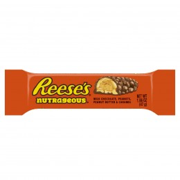 Reese's Nutrageous, 1.66 oz Each, 16 Boxes of 18 Bars, 288 Total