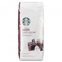 Starbucks Caffe Verona Ground Coffee, 1 lb Each, 6 Bags Total
