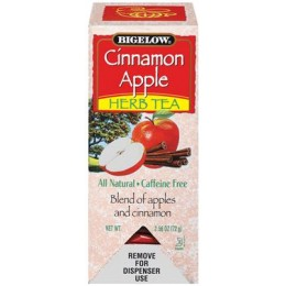 Bigelow Apple Cinnamon Tea Bag, 6 Boxes of 28 Tea Bags, 168 Total