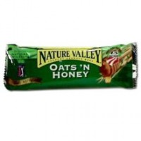 General Mills 11582 Nature Valley Granola Oat and Honey Bar 0.74oz Each Bar, 144 Bars Total