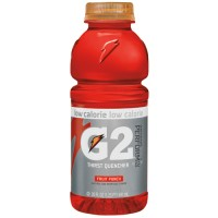 Gatorade G2 Fruit Punch 12 oz Bottle, 24 Bottles Total