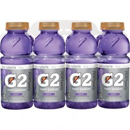 Gatorade G2 Sport Grape 12 oz Each Bottle, 24 Bottles Total