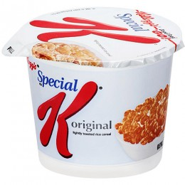 Special K Cereal Cup, 1.25 oz Each, 10 Boxes of 6 Cups, 60 Total