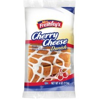 Mrs Freshley's Braod Street Bakery Cherry Turnover Pastry 4.5 oz Each Pack, 48 Packs Total