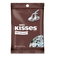 Hershey Kisses Large Peg Bag 5.3 oz., 12 Bags Total