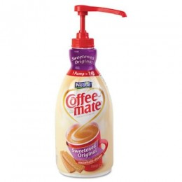 Coffee Mate Original Liquid Creamer Pump Bottle 1.5L ea. 2 Bottles