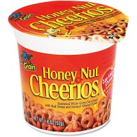 General Mills 13898 Cheerios Cereal Honey Nut Cup 1.83 oz Each Cup, 60 Cups Total