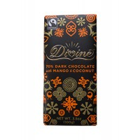 Divine Dark Chocolate with Mango & Coconut, 3.5 oz Each, 60 Total
