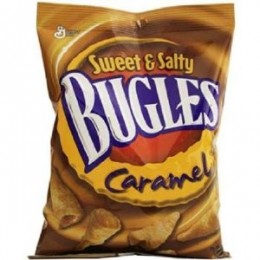 Bugles Sweet and Salty Caramel 3.5 oz Each Bag, 42 Bags Each