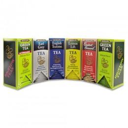 Bigelow 6 Flavor Assorted Tea Bags, 6 Boxes of 28 Tea Bags, 168 Total