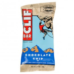 Clif Bar Chocolate Chip, 2.4 oz Each, 16 Boxes of 12 Bars, 192 Total