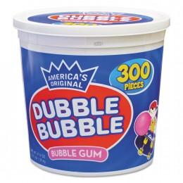 Dubble Bubble Twist Gum, 2400 Pieces