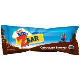 Clif Kid Organic Z Bar Chocolate Brownie, 1.27 oz Each, 9 Boxes